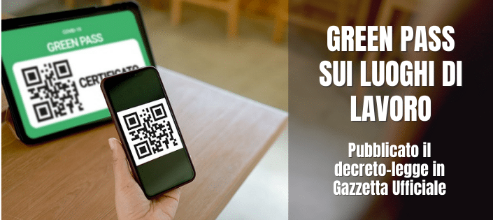 green pass decreto legge